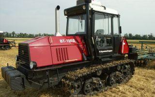 Трактор ВТ-150. Обзор модификаций, характеристики, отзывы