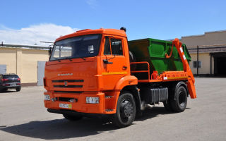 КамАЗ-43253: основные габариты, двигатель, трансмиссия, тормоза и электрическое оборудование