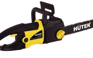 Электропила Huter ELS-2400. Обзор, инструкция, характеристики, отзывы