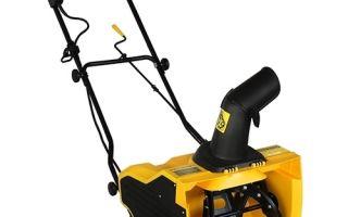 Снегоуборщик электрический Champion STE1650. Обзор, характеристики, инструкция, отзывы