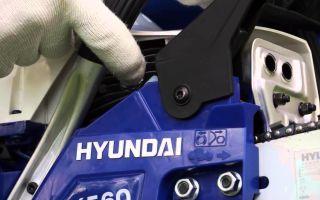 Обзор модельного ряда бензопил «Хундай». Особенности, принцип эксплуатации и отзывы