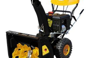 Снегоуборщик Huter sgc 6000. Основные характеристики, правила использования и техника безопасности