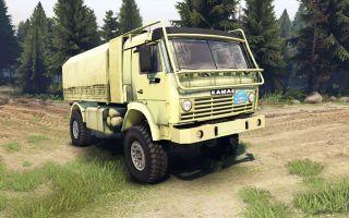 КамАЗ-4911. Двигатель и расход топлива. Трансмиссия, тормоза и электрооборудование