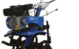 Обзор мотоблоков Prorab GT-715 SK. Технические характеристики, особенности применения  и эксплуатации