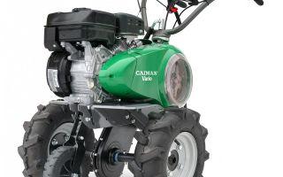 Мотоблок бензиновый Caiman Vario 70S TWK+. Обзор, характеристики, особенности применения