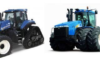 Обзор тракторов Нью Холланд. Основные технические характеристики. Особенности использования