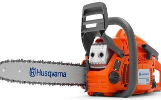 Обзор бензопилы Husqvarna 140. Описание, технические характеристики и отзывы пользователей