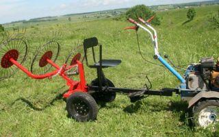 Заготовка сена: грабли, пресс-подборщики, косилки для мотоблока