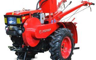 Мотоблоки Хопер МТ-120Е. Технические характеристики. Особенности применения. Отзывы владельцев