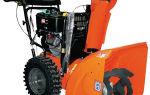 Снегоуборщик Husqvarna 8024 STE. Обзор, характеристики, отзывы