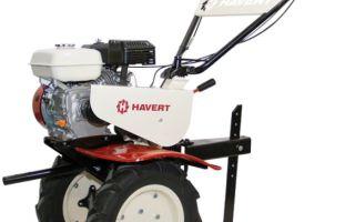 Мотоблоки Havert. Обзор модельного ряда, характеристики, навесное оборудование, применение и эксплуатация