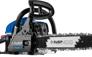 Обзор бензопилы Зубр ПБЦ-450 40П. Характеристики, комплектация, особенности использования и отзывы