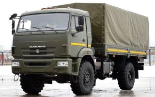 КамАЗ-4350. Технические характеристики. Мотор и расход топлива