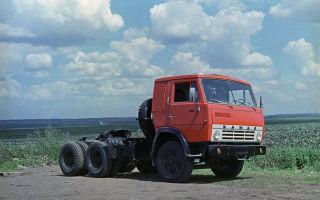 Обзор тягача КАМАЗ 5410: параметры двигателя, трансмиссия и сцепление