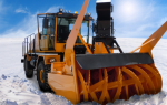 Разновидности снегоочистителей, используемых для чистки снега на тракторах МТЗ