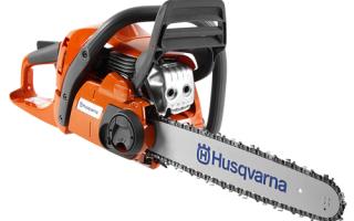 Обзор бензопилы Husqvarna 450e ii. Описание, технические характеристики и отзывы пользователей