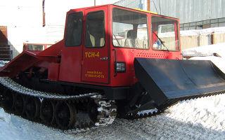 Трактор ТСН-4. Обзор, навесное оборудование, отзывы