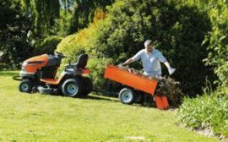Как выбрать садовый минитрактор