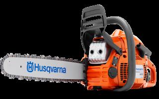 Обзор бензопилы Husqvarna 445e ii. Описание, технические характеристики и отзывы пользователей