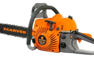 Бензопила Carver RSG-246. Технические характеристики и правила эксплуатации