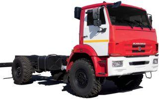 КамАЗ-43502. Описание и технические характеристики шасси
