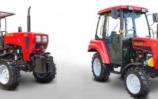 Минитракторы Беларус МТЗ 421 и МТЗ 422. Описание, технические характеристики, преимуществ данных машин