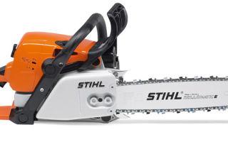 Обзор бензопилы Stihl 310-MS. Технические характеристики, описание, инструкция по эксплуатации и обслуживанию