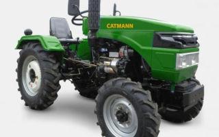 Обзор минитрактора Catmann 244. Описание, модификации, особенности применения и обслуживание