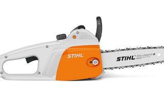 Обзор электропилы Stihl 141-mse. Технические характеристики, описание, инструкция по эксплуатации и обслуживанию