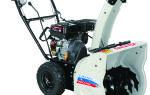 Снегоуборщик Интерскол СМБ-550. Технические характеристики и правила эксплуатации