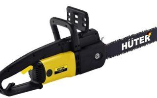 Электропила Huter ELS-2000. Обзор, характеристики, отзывы
