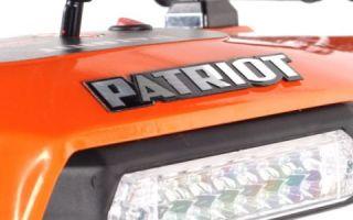 Снегоуборщики Patriot — обзор популярных серий бренда. Описание, особенности и отзывы пользователей