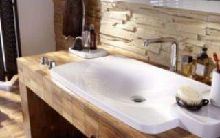 3 «выгодных» формы умывальника для ванной