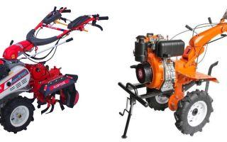 Мотоблоки Greenfield. Обзор модельного ряда, характеристики, навесное оборудование, применение и эксплуатация