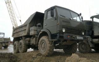 КамАЗ-43101. Двигатель, трансмиссия, тормоза схема электропитания