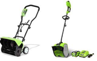 Снегоуборщики GreenWorks. Особенности эксплуатации и применения снегоуборщика. Отзывы владельцев