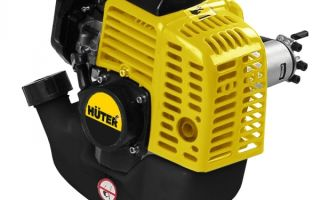 Бензиновый триммер Huter GGT-2500S. Технические характеристики и модификации