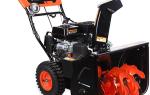 Patriot Garden Pro 655 E — особенности снегоуборочной машины. Описание, технические характеристики и отзывы пользователей