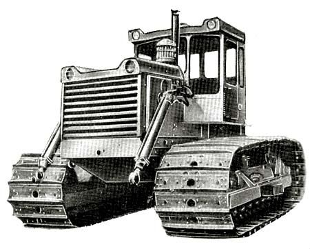 Трактор (бульдозер) Т-130Б