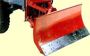 Отвал поворотный для мини-трактора КМЗ-012
