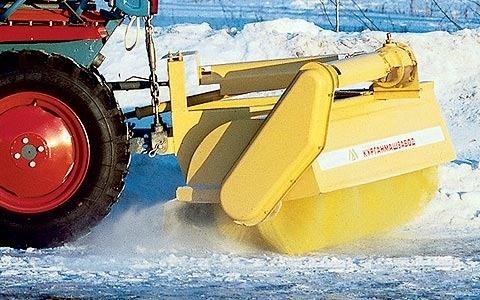 Щетка подметальная для мини-трактора КМЗ-012