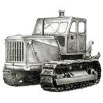 Трактор Т-100МГС