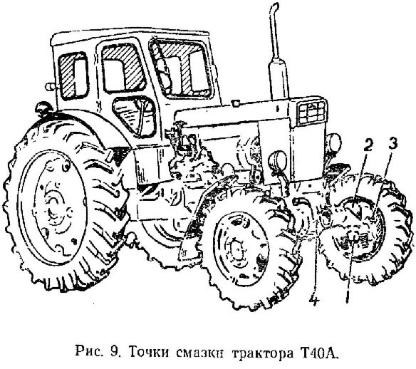 Трактор Т-40А