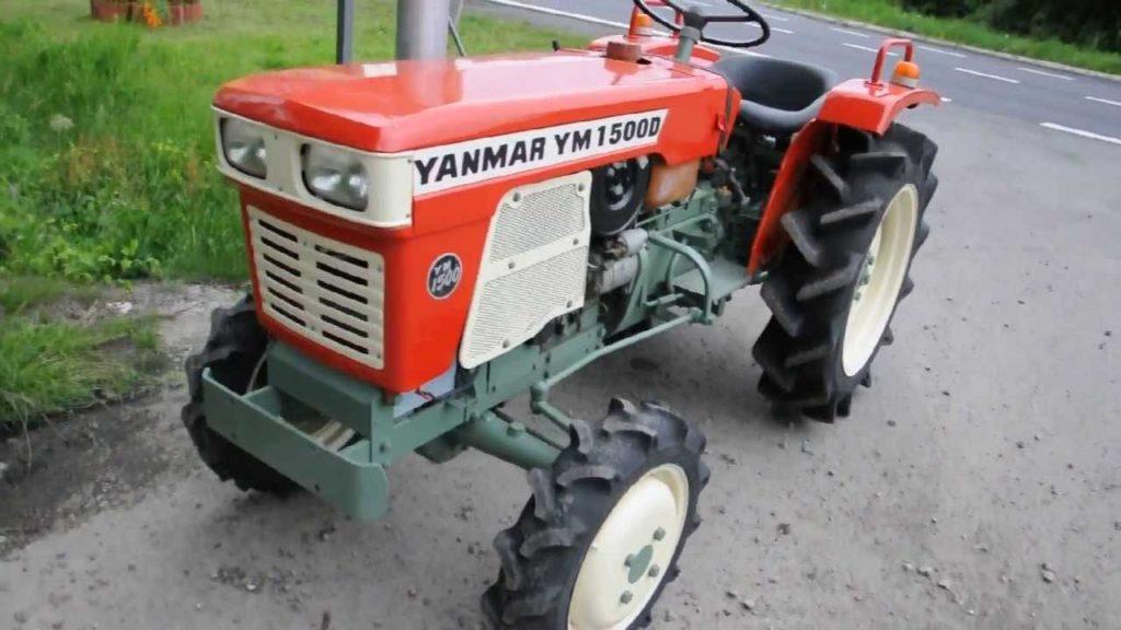 Минитрактор Yanmar 1500D