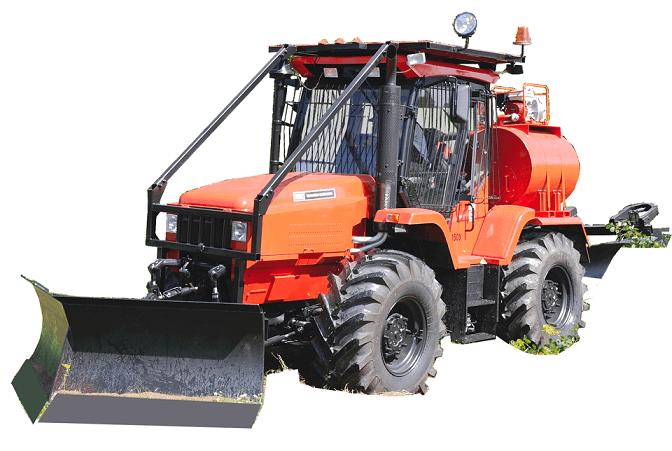 Трактор РТ-М-160 с навесным оборудованием