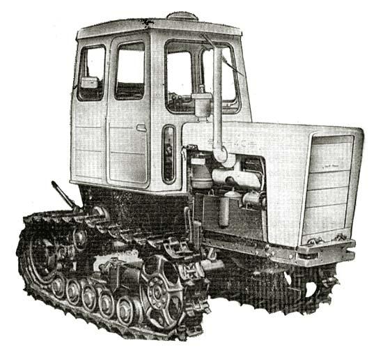 Трактор Т54В