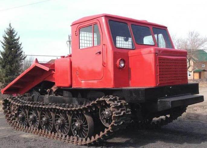 Трактор ТДТ-75