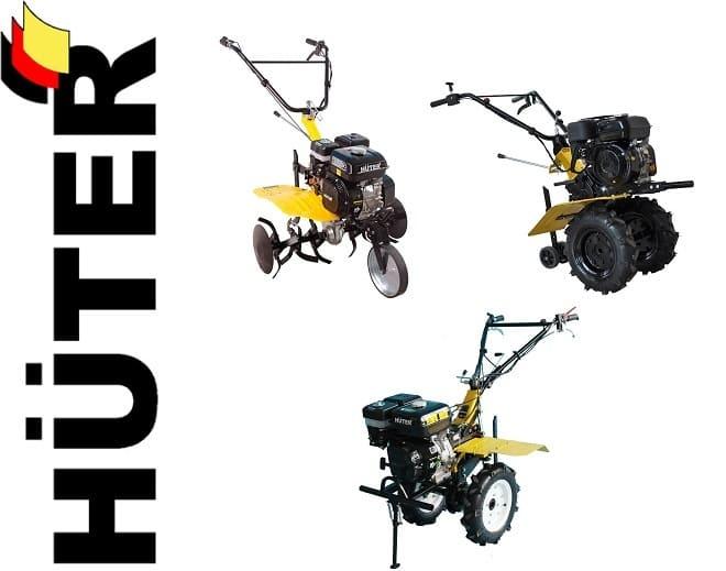 Мотоблок Huter GMC 9.0 л.с.