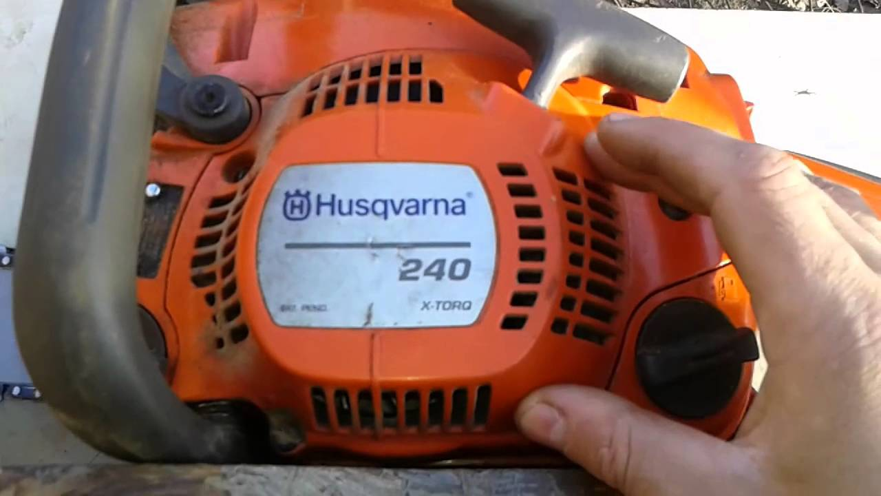 Бензопила Husqvarna 240 X-Torq