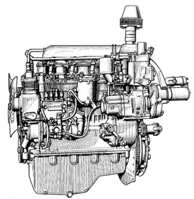 Двигатель МТЗ-50